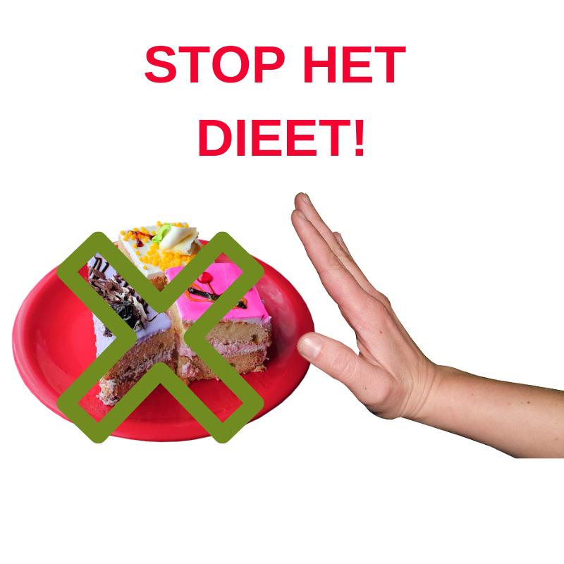 stop het dieet
